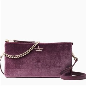 NEW Kate Spade Plum Tillie bag